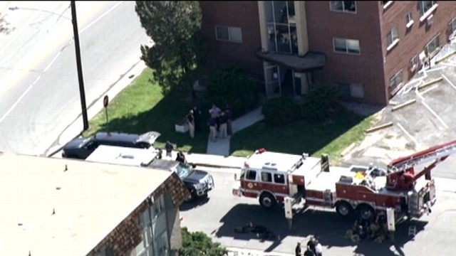 VIDEO: Bomb squads carefully took apart the gunmans booby trapped apartment.