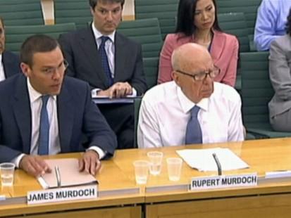 VIDEO: Rupert Murdoch and son James testimony will decide media empires fate.