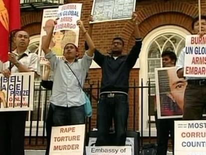 VIDEO: San Suu Kyi house arrest
