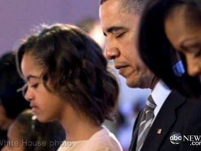 VIDEO: President and family celebrate Easter, but he doesnt attend regularly.