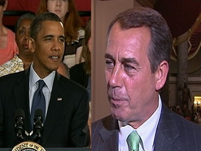 VIDEO: The president got fired up about the congressmans financial reform remarks.