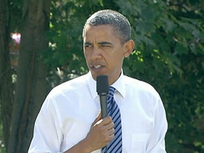 VIDEO: Obama pleads for patience, conceding the economic recovery will take years.