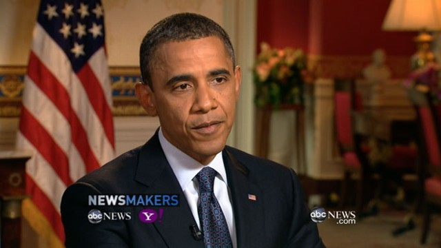 VIDEO: President answers questions in live web interview with George Stephanopoulos.
