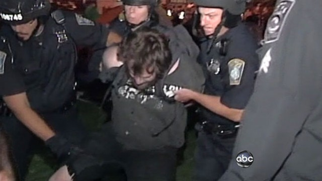 VIDEO: Occupy Wall Street demonstrators marched into a Senate building in Washington.