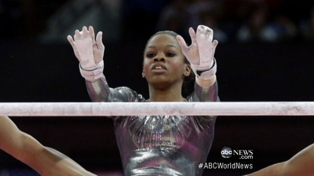 VIDEO: All-around winner finishes last on uneven bars; Team USA moves ahead in soccer.