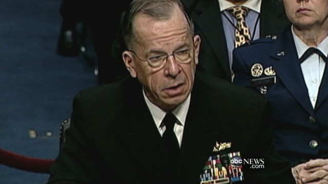 VIDEO: Adm. Mike Mullen accuses Pakistans spy agency of assisting terrorists.