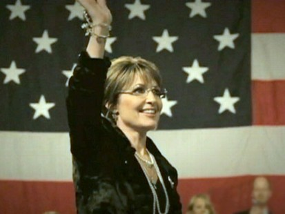 VIDEO: The former Alaska governor riles up Republican women in a new ad.
