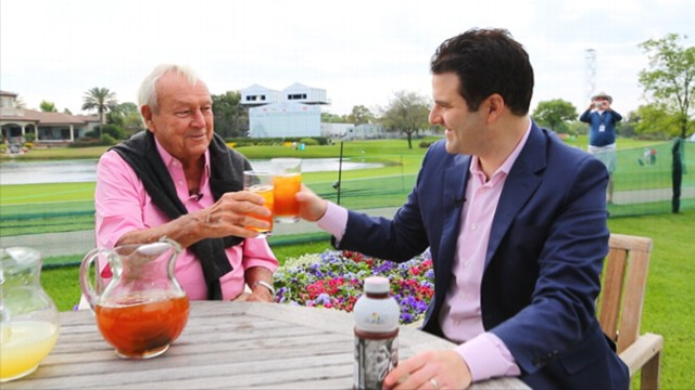 VIDEO The Renowned Golfer Discusses Secret Of His Famous Beverage