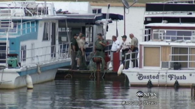VIDEO: Two die swimming between houseboats; faulty cord suspected.