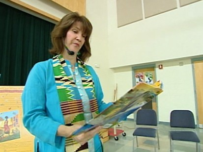 VIDEO: Katie Smith Milway inspires kids with her book One Hen.