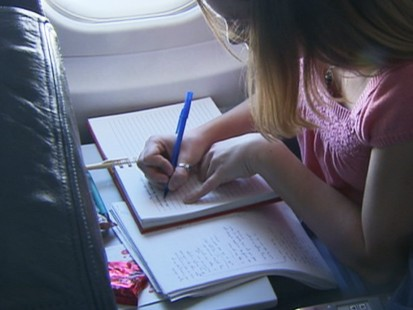 VIDEO: Journal messages lift soldiers spirits