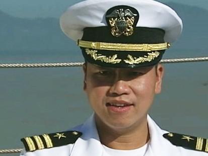 First Vietnamese American Navy Captain Commander H B Le