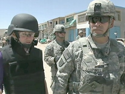VIDEO: A day with the general who has 30,000 troops serving under him.
