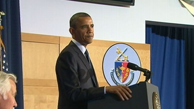 VIDEO: The president issued a harsh warning to the Syrian regime about the use of chemical weapons.