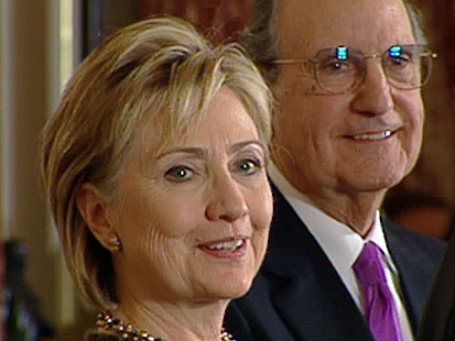 VIDEO: Clintons First Day as Madame Secretary
