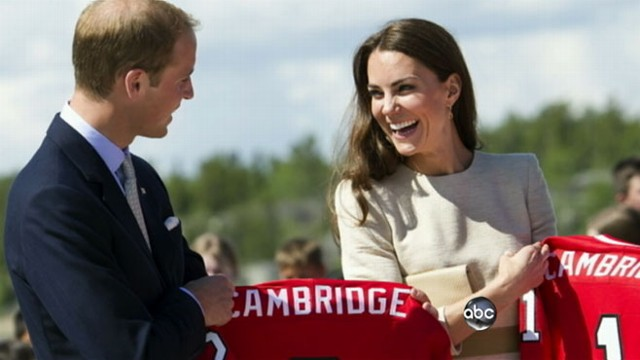 VIDEO: The Duke and Duchess of Cambridge make headway in North American tour.
