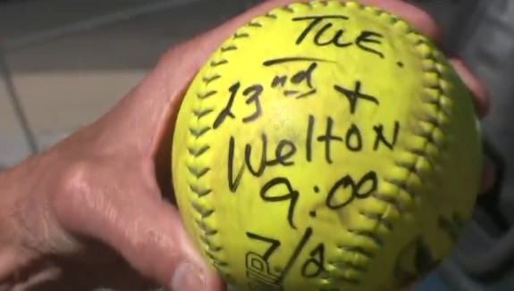 VIDEO: Real Estate Developer Joe Carabello encourages the less fortunate with a weekly softball game.