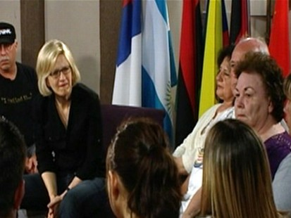 VIDEO: Diane Sawyer holds town hall event for people impacted by the BP oil spill.