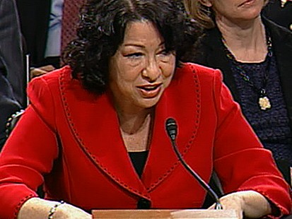 VIDEO: Scotus Nominee Sotomayor Grilled by Senators
