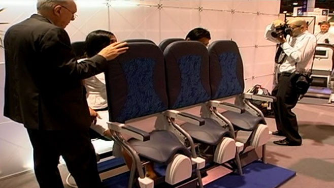 VIDEO: New Airline Seats
