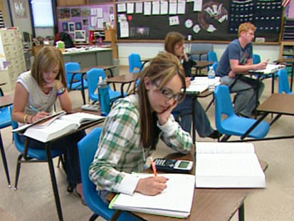 VIDEO: Some schools scale back to four-day week.