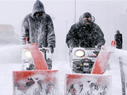 VIDEO: One-third of the country is getting hit with a second snowstorm.