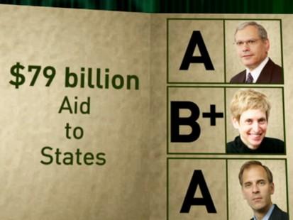 VIDEO: Economy stimulus report card