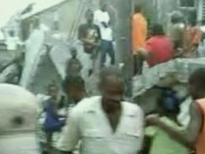 VIDEO: Haiti Earthquake Slams Local Hospitals