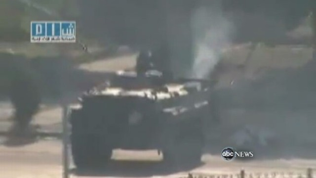 VIDEO: Syria?s government resorts to violence in attempt to subdue protesters.