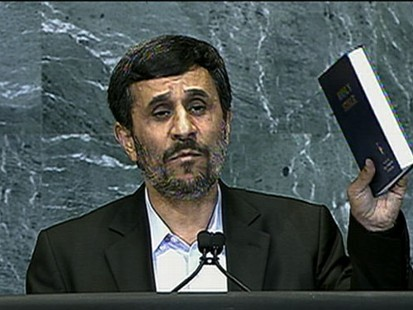 VIDEO: Irans president offered his version of 9/11 in controversial speech to the U.N.
