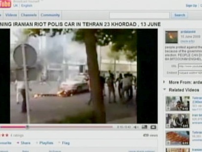 VIDEO: Tweeting a Revolution in Tehran