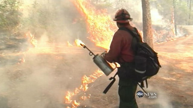 VIDEO: Wildfire consumes 100,000 acres in less than a week.