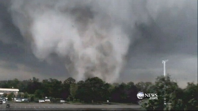 VIDEO: Violent weather devastates states across the south.