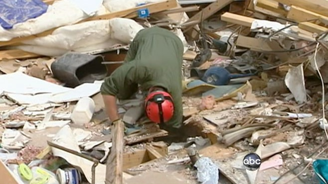 VIDEO: Yunji de Nies reports on the devastating tornados down south, one week later.