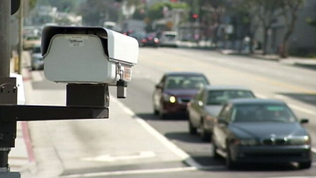 "VIDEO: ""Red light cameras"" being outlawed after claims they actually cause accidents."