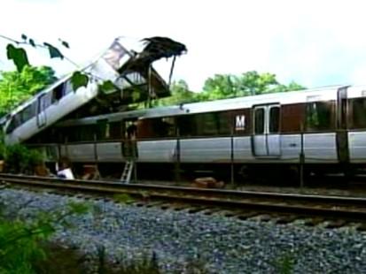 VIDEO: DC Metro Train Collision