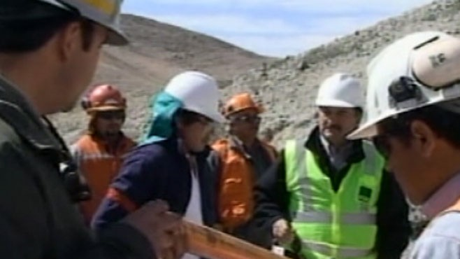 VIDEO: Trapped Underground in Chile