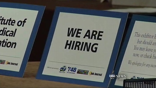 VIDEO: U.S. added 120,000 jobs last month, according to new numbers.