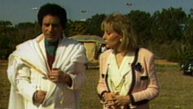 VIDEO: ABC News Barbara Walters reflects on meeting the Libyan dictator in 1989.
