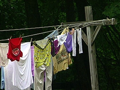 Some Say CLotheslines Are Eyesores