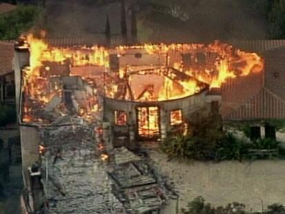 VIDEO: Wildfires in Santa Barbara