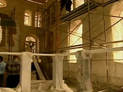 VIDEO: Synagogue in Egypt being restored
