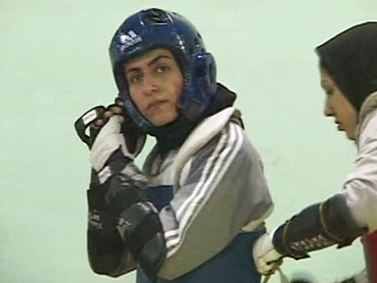 Iranina athlete