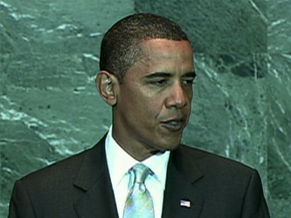 VIDEO: President Addresses Climate Change In Front Of General Assembly