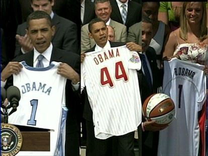 Multi-tasking president still finds time for his sports teams.