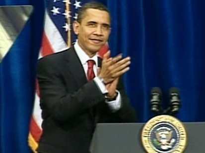 VIDEO: President Obama signs stimulus bill