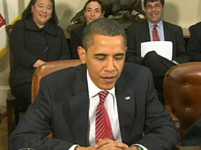 VIDEO: Obama to Fat Cat Bankers: Time to Start Lending