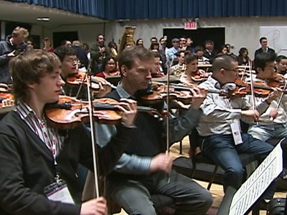 VIDEO: YouTube symphony orchestra
