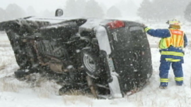 VIDEO: New nationwide storm threatens to hit just in time for New Years.