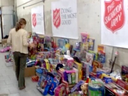 Salvation Army donations